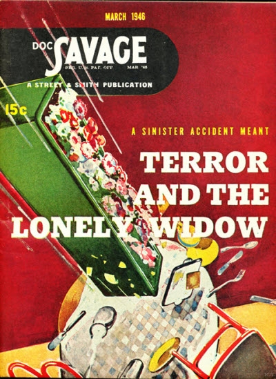 166m 03/46     Terror and the Lonely Widow