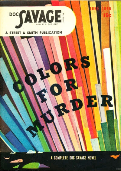 169n 06/46     Colors for Murder