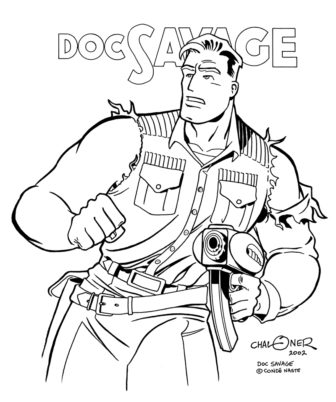 Doc Savage by Gary Chaloner