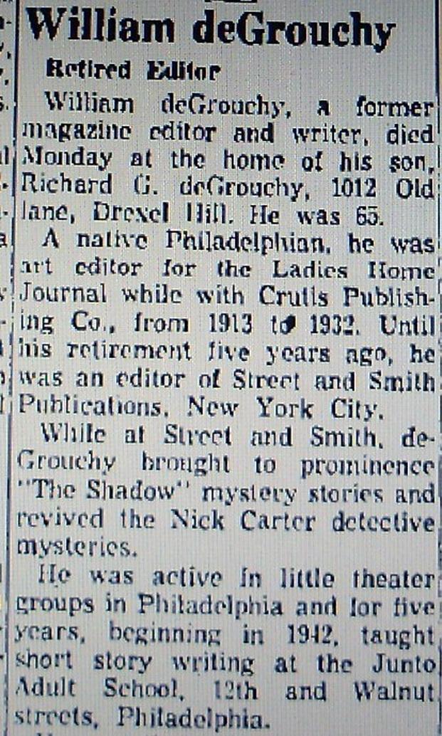William J. de Grouchy