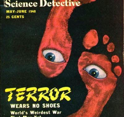 Terror Wears No Shoes