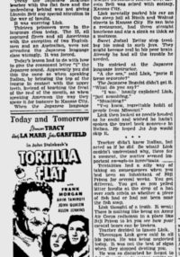 Take Away the Lady – 1944 Lester Dent Newspaper Serial