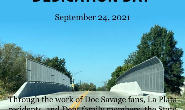 Lester Dent Bridge Dedication September 24, 2021